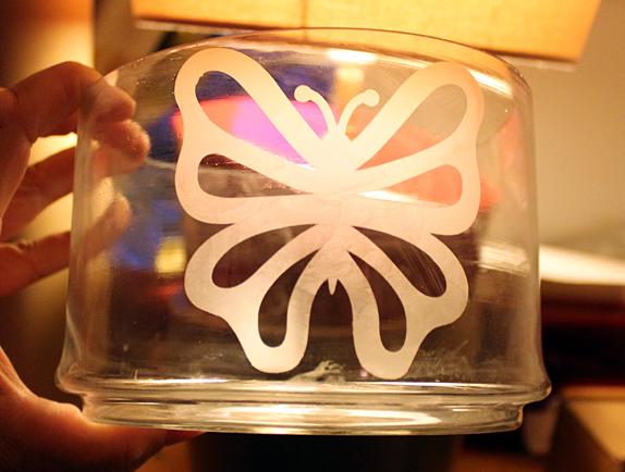 glasets vlinder