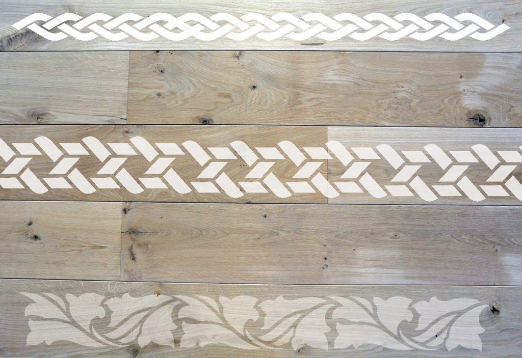 houten vloeren randen